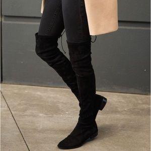 💋Arrived💋 Boots Over Knee Black suede